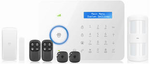 WiFi/GSM wireless Alarm System Secure Your Home & Business