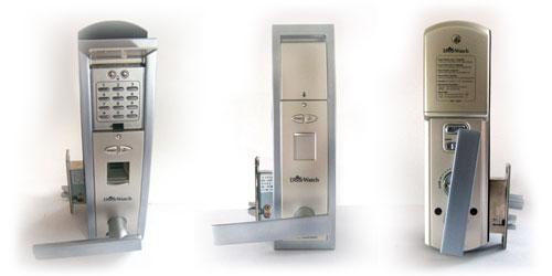 FINGER PRINT DOOR LOCK NDL 600 Nitgen IDENTIFICATION Door Locks USA India  France Germany China Korea Japan Fingerprint Door Access Control System