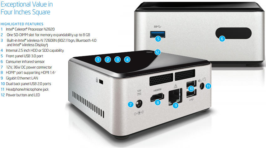 INTEL DC53427HYE NUC KIT IFLASH DESCARGAR DRIVER