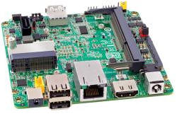 Fanless Single board computer Intel ATOM