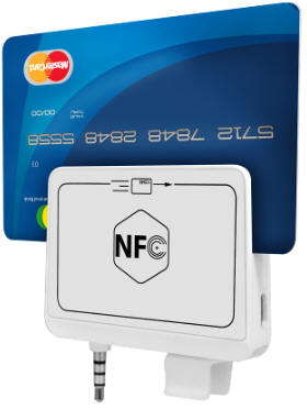 NFC Magnetic mobile card reader