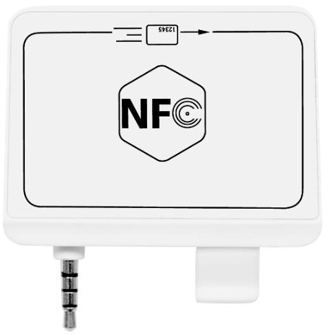 NFC mangnetic Mobile Card Reader India