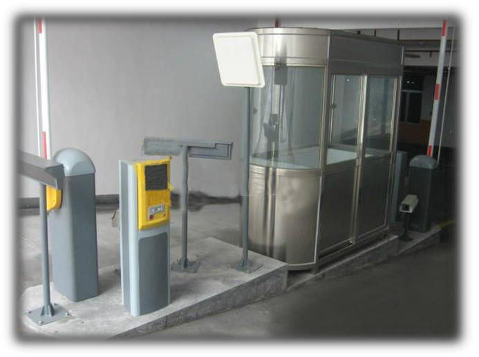 Electromechanical Boom Barrier Gate System parking security